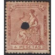 España Spain Telégrafos 140T 1873 Alegoría MH