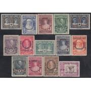 España Spain 349/62 1927 Cruz Roja Alfonso XIII MH