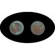 Moneda romana AS Claudio I emperador de 41 a 54 d.C