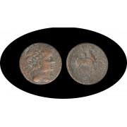 Moneda romana  AS Acuñada en la segunda mitad del siglo II a.C.