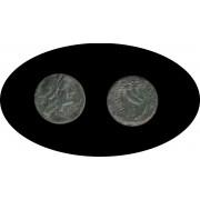 Moneda romana Semis Grecia Antigua
