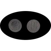 Moneda romana Follis Licinio I emperador romano de 308 a 324 d.C.