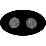 Moneda romana Antoniniano Claudio II el Gótico emperador romano