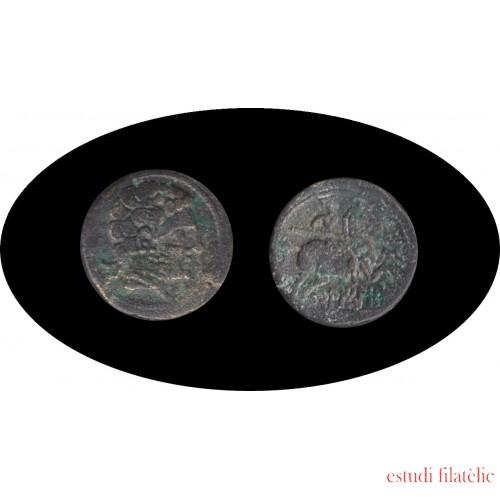 Moneda romana AS Belchite, Zaragoza Fecha de acuñación: 1er tercio del siglo