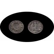 Moneda romana Antoniniano Salonina 268 d.C. emperatriz romana