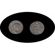 Moneda romana Antoniniano Volusiano, emperador romano en los años 251-253 d.C.