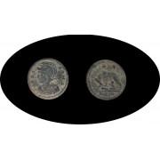 Moneda romana Medio Follis Constantino I el Grande