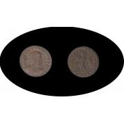 Moneda romana Follis Constantino I 312 – 324 d.C.