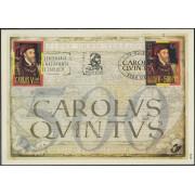 España Spain Emisión conjunta 2000 Alemania-España Centenario de Carlos V MNH