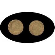 España Spain  4 escudos Fernando Ferdin VII  1816  Madrid GJ Oro Gold Au