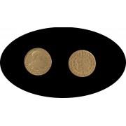 España Spain 2 escudos 1798 Madrid MF Carol Carlos IIII oro gold Au