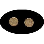 España Spain Carlos Carol III  Durillo 1/2 escudo 1775 Madrid PJ Oro Au