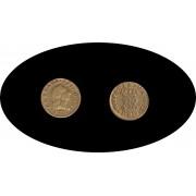 España Spain Carlos Carol III  Durillo 1/2 escudo 1759 Madrid JP Oro Au