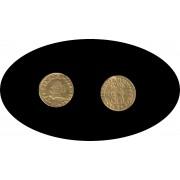 España Spain Fernando VI 1747 Durillo 1/2 escudo oro gold Au