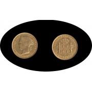 Filipinas Isabel II 1888 Filipinas 4 pesos Oro Au Gold