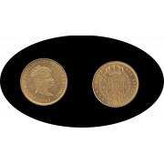 España Spain 80 Reales 1847 Madrid CL Isabel II Oro Gold Au