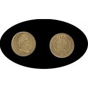 España Spain Fernando Ferdin VII 2 escudos 1827 Sevilla JB  Oro Gold Au