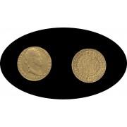 España Spain Fernando Ferdin VII 2 escudos 1818 Sevilla CJ  Oro Gold Au