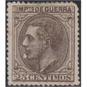 España Spain NE 7 1879 No Emitido Alfonso XII MH