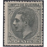 España Spain NE 8 1879 No Emitido Alfonso XII Sin Goma