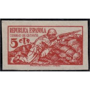 España Spain NE 46 1939 No Emitido Correo de Campaña  MH