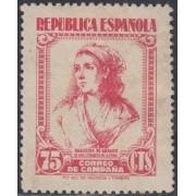 España Spain NE 52 1939 No Emitido Correo de Campaña 1939 MH