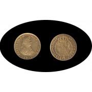 España Spain Fernando Ferdin VII 2 escudos 1813 Madrid GJ Oro Gold Au