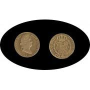 España Spain Fernando Ferdin VII 2 escudos 1831 Madrid AJ  Oro Gold Au