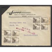 España Carta de Reus a Barcelona 1936 Marca Censura Reus
