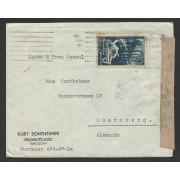 España Carta de Barcelona al Cónsul de Nuremberg 1938