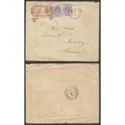 España Carta de Mallén (Zaragoza) a Nuremberg 1937