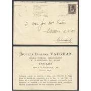 España Postal de la Escuela Inglesa Vaughan a un alumno Años 30