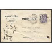 España Postal de Guijuelo (Salamanca) a Barcelona 1944