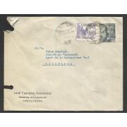 España Carta de Pontevedra a Barcelona 1949