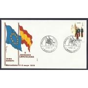 España Carta con Matasello Conmomerativo X Jornadas Filatélicas 1978