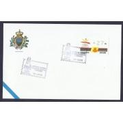 España Carta con Matasello Conmomerativo Expo Mundial 1992 Atms