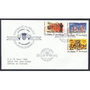 España Carta Conmemorativa y Matasello Privado Barcelona 1992