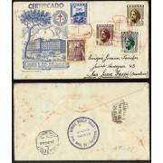 España Sobre y Matasello Pro tuberculosos 1948