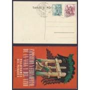 España Postal y Matasello Conmemorativod e la Feria de la Viña y el Vino 1953