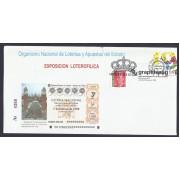 España Sobre y Matasello Primer Día Exposición Loterofílica 1998