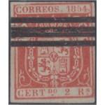 España Spain Barrados 25 1854