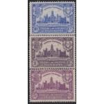 España Spain Beneficencia Huérfanos de Telégrafos 1/3 1927 MH