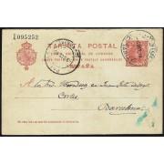 España Spain Entero Postal 47 Matasello 1910 Puerto del Rosario - Tetir