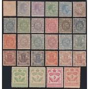 España Spain sellos finales de 1882 a 1905 MH