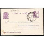 España Spain Entero Postal 69 Matrona 1934 Santa Coloma de Farners
