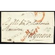 España Prefilatelia Carta de Santander a Reynosa 1829