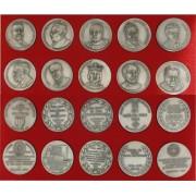 Colección 10 Medallas Personalidades Catalanas