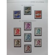 Colección Collection Guinea Ecuatorial 1968/2010 LT