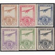 España Spain 483/88 1930 Congreso Ferrocarriles - Avión MH