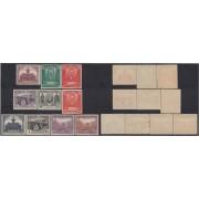 España Spain 604/13 1931 Unión Postal Panamericana MH